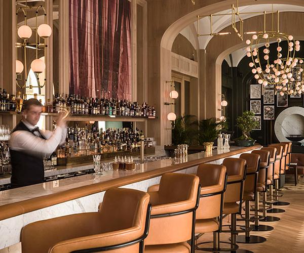 Long Bar Raffles Europejski Warsaw Raffles Hotels Resorts