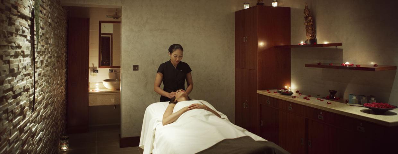 Комната для спа-процедур в Raffles Dubai