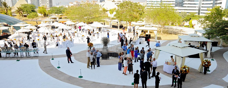 Сад «Raflles», организация мероприятий в отеле Raffles Dubai