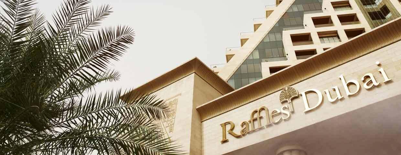Informationsblatt des Raffles Dubai