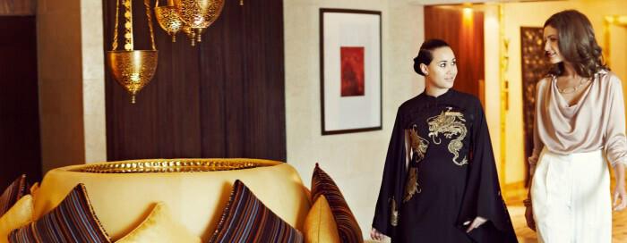 Стиль жизни в отеле Raffles Dubai