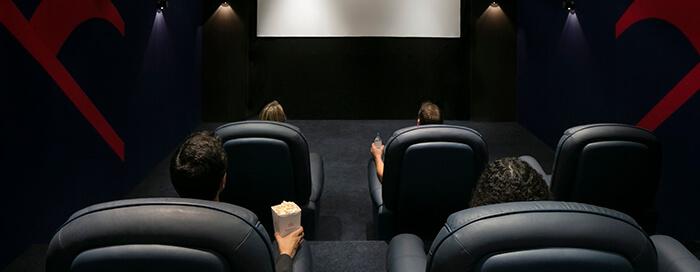 Кинотеатр «Raflles» в отеле Raffles Dubai