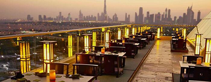 Ресторан «TOMO» в отеле Raffles Dubai