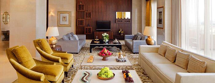 Номер люкс «Ambassador» в отеле Raffles Dubai