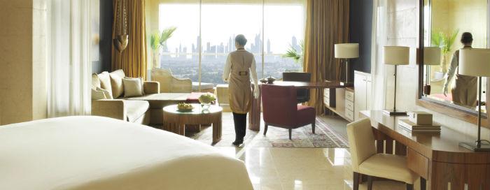 Клубные номера «Raffles» - «Dubai Skyline» в отеле Raffles Dubai