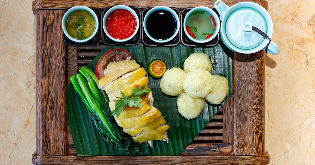 Riz au poulet de Hainan