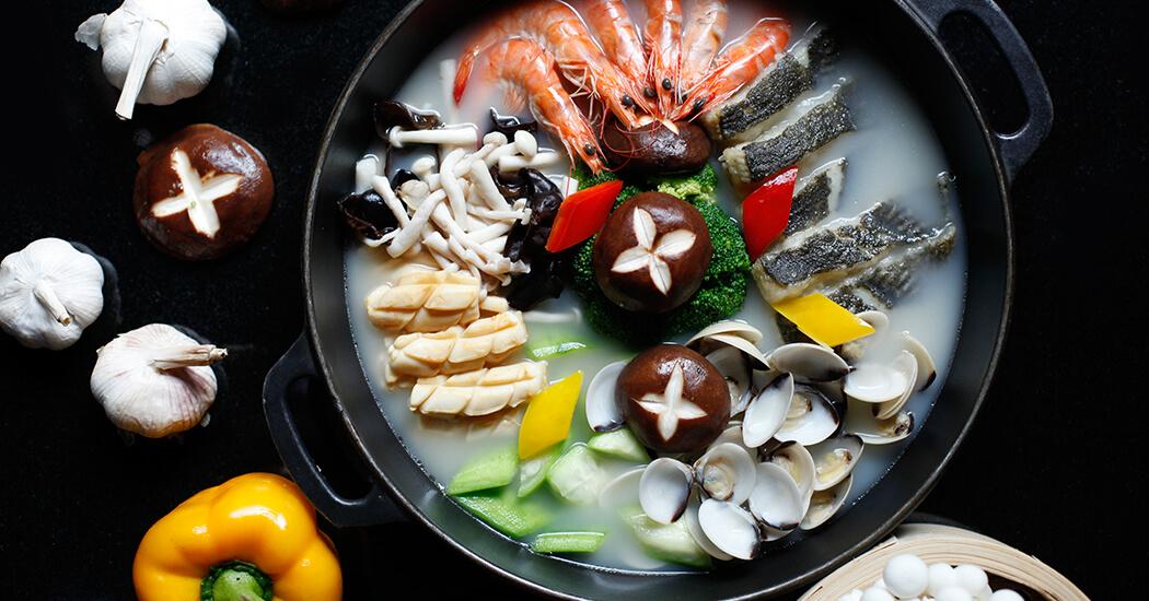 Meeresfrüchte-Topf
