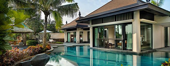 Вилла «Grand» с бассейном в Raffles Hainan