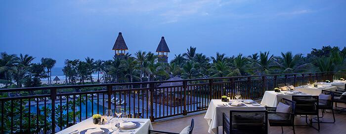 «Sapori» в Raffles Hainan
