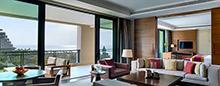 Люкс «Premium» с видом на залив в Raffles Hainan