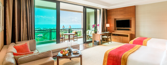 Ocean View Room at Raffles Hainan