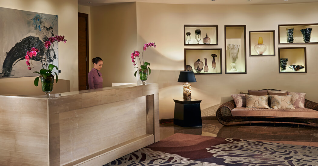Lobby Of Willow Stream Spa By Fairmont Makati