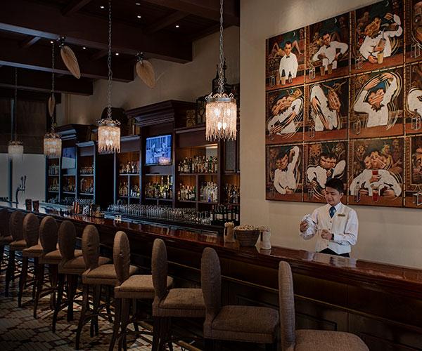 Long Bar Raffles Makati Raffles Hotels Resorts