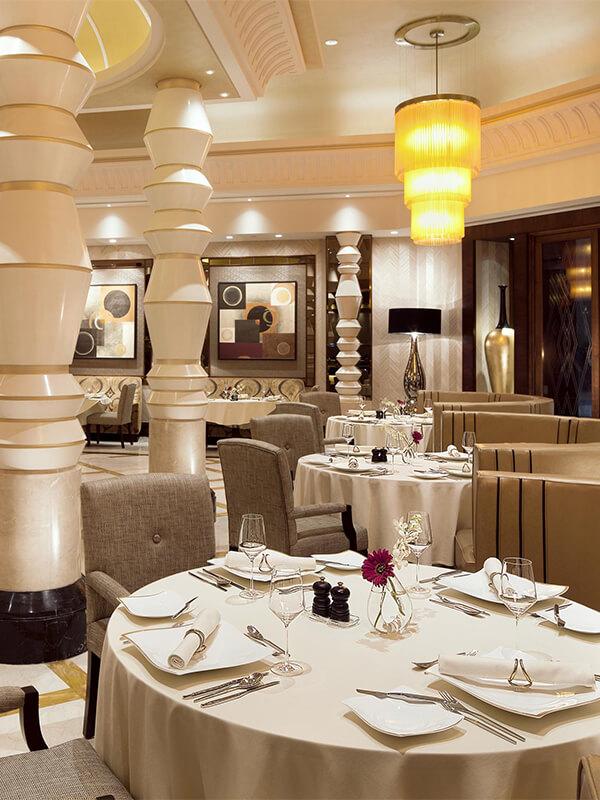 Fine Dining - Raffles Makkah Palace - Raffles Hotels & Resorts