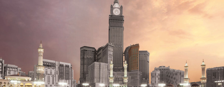 Informationsblatt des Raffles Makkah