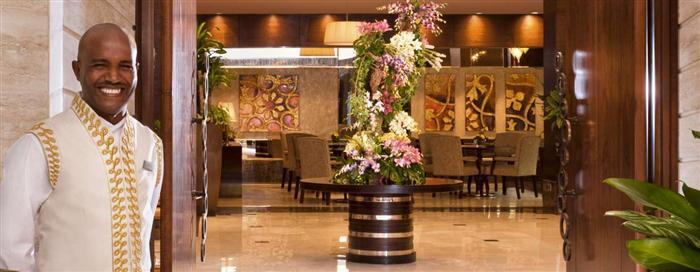 الترحيب في فندق رافلز مكة