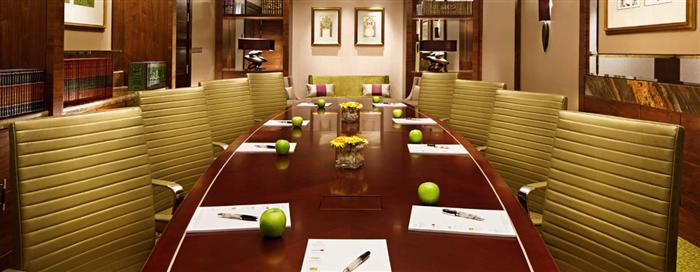 Meetings Table at Raffles Makkah