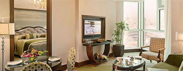 استراحة الجناح الرئاسي في فندق رافلز مكة