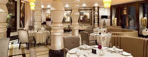 مطعم المجلس في فندق رافلز مكة