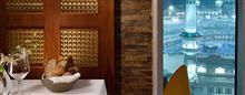 مطعم القصر في فندق رافلز مكة