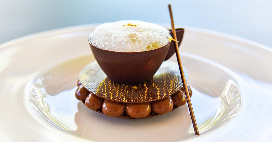 巧克力阿法奇朵特色甜点