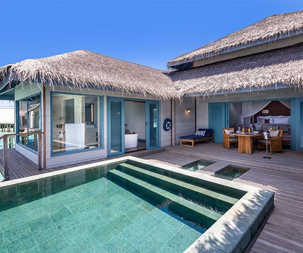 Overwater Villa With Pool Raffles Maldives Meradhoo Raffles Hotels Resorts