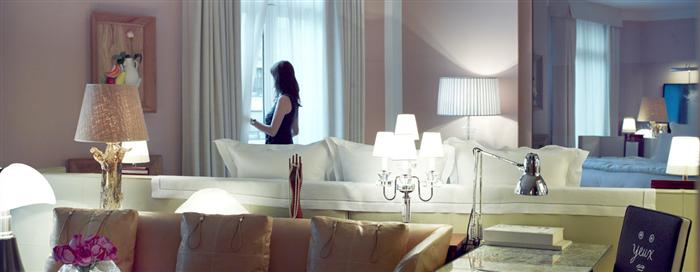 Suite junior au Raffles Paris