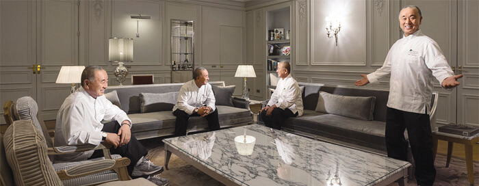 Culinary Journey with Matsuhisa Paris at Raffles Paris
