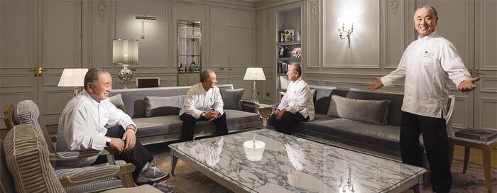 L'aventure culinaire Matsuhisa Paris