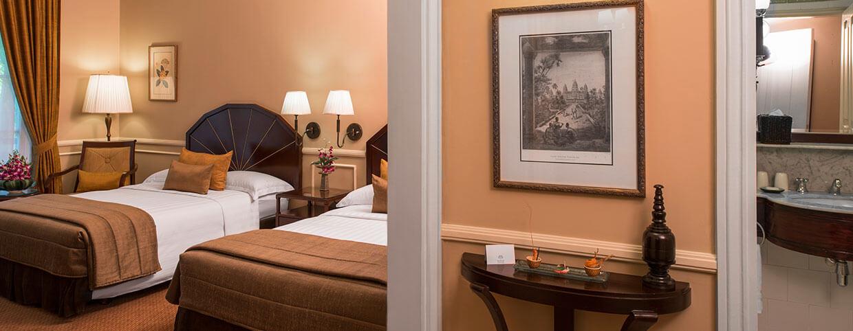 Chambre State avec lits jumeaux au Raffles Hotel Le Royal