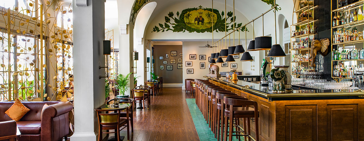 Elephant Bar au Raffles Hotel Le Royal