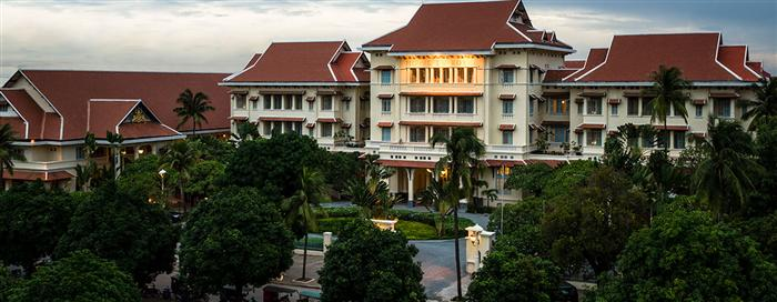 Raffles Hotel Le Royal, Phnom Penh(ラッフルズ ホテル ル ロイヤル、プノンペン)