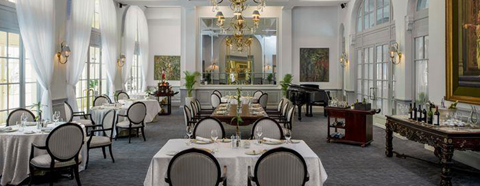 Restaurant Le Royal at Raffles Hotel Le Royal