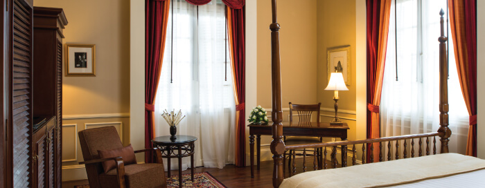 Suite Personality Somerset Maugham au Raffles Hotel Le Royal