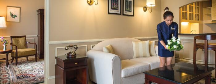 Raffles Hotel Le Royal(ラッフルズ ホテル ル ロイヤル)の客室の詳細