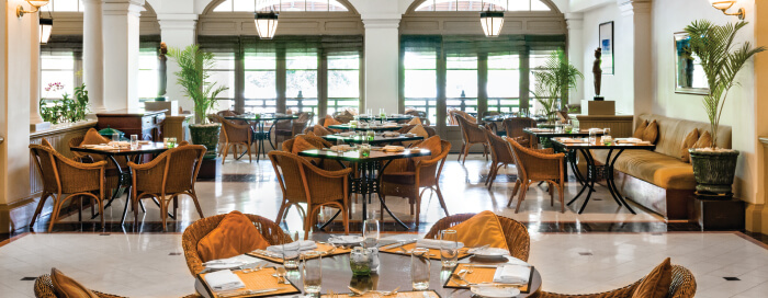 Café Monivong at Raffles Hotel Le Royal