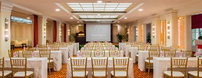 Salle Empress au Raffles Hotel Le Royal