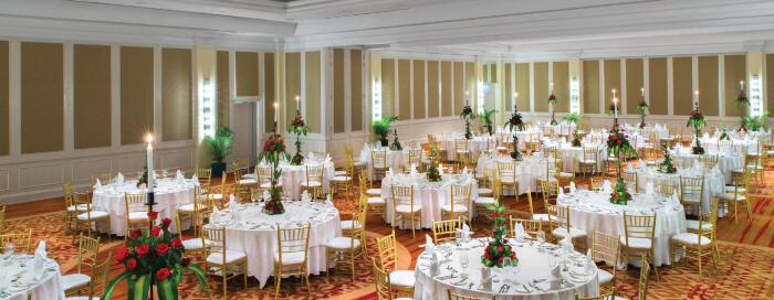 Ballroom at Raffles Hotel Le Royal