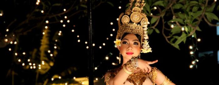 Spectacle culturel et dîner cambodgiens