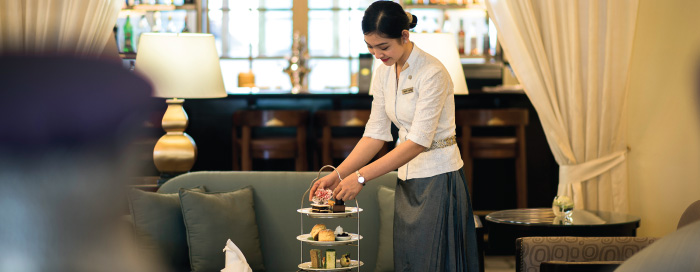 Thé de l'après-midi au restaurant Le Royal