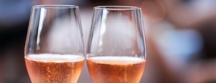 Rosé Champagne Brunch