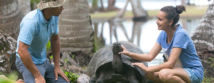 «Рейнджер на день» в Raffles Seychelles