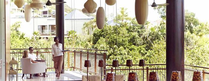 Гостиная «Danzil» в Raffles Seychelles