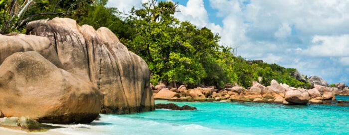 Anse Lazio au Raffles Seychelles