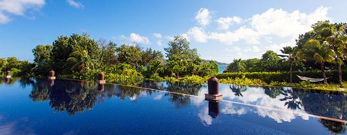 Installations au Raffles Seychelles