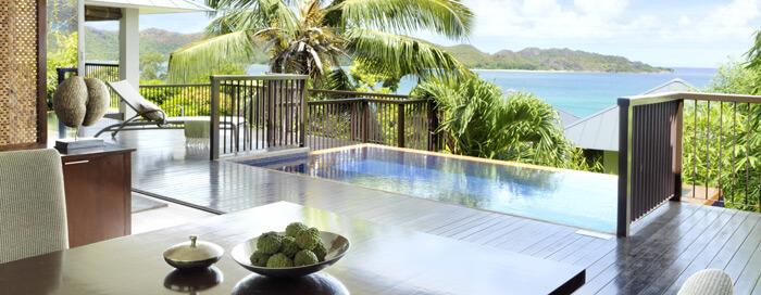 Chambre à un lit au Raffles Seychelles