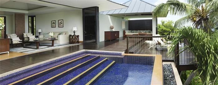Вилла с одной спальней и видом на сад в Raffles Seychelles
