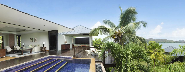 Villa à une chambre avec vue sur le jardin