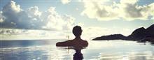 Глубоководный бассейн в Raffles Seychelles
