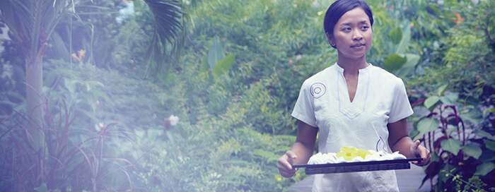 Спа-тестер в Raffles Seychelles